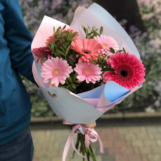 Bouquet With Gerberas