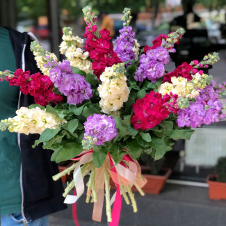 Bouquet of Multi-colored...