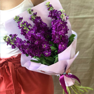 "Bouquet ""Blueberry pie"""