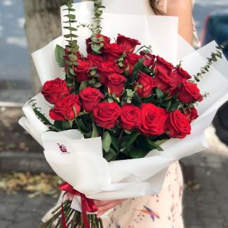 Trandafiri Roșii în...