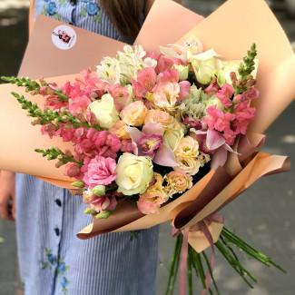 "Bouquet ""Creme Brulee"""