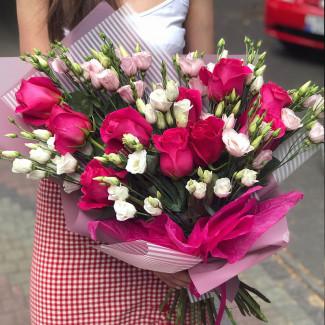 "Bouquet ""Raspberry Dream"""