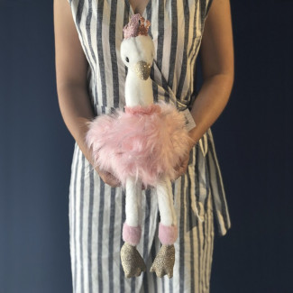 Pink Flamingo Plush Toy