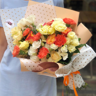 "Bouquet ""Orange Mood"""