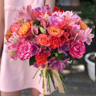 "Bouquet ""Sunset Rays"""