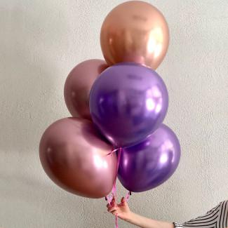 Baloane metalic fotografie