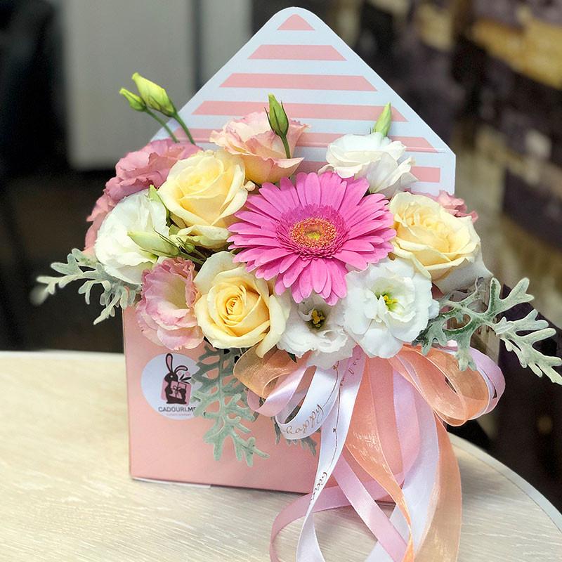 Flowers in envelope photo