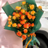 Orange bush rose photo