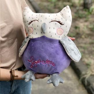 Plush toy owl photo
