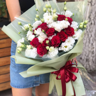 """Bouquet """"Yin and Yang"""""""