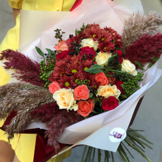 "Bouquet ""Fox in the Reeds"""