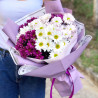 Beautiful bouquet of chrysanthemums photo