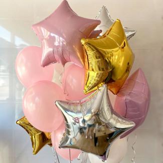 Balloons stars photo