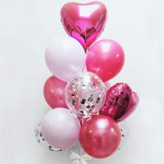 Воздушные шарики для принцессы фото