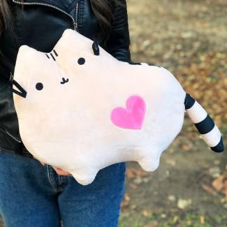 Кошка-подушка фото