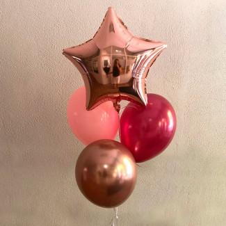 "Set de Baloane ""Stea..."
