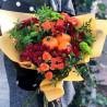 Осенний букет с тыквами фото