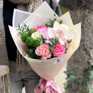 Flowers for girl photo