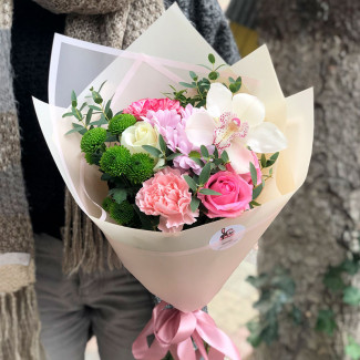 Flori pentru fată fotografie
