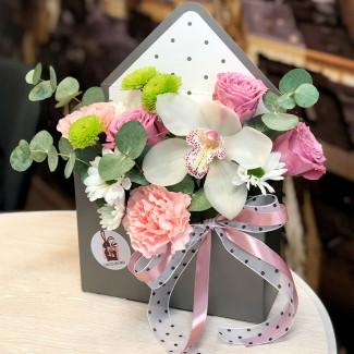 """Цветы в Коробке """"Влюблённый..."""