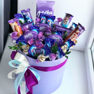 Cutie de ciocolata milka fotografie