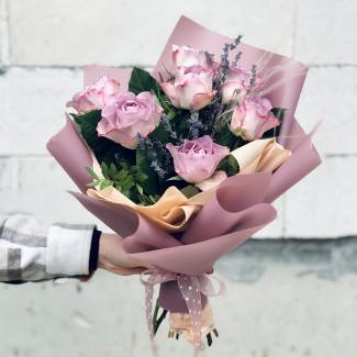 """Bouquet """"Lavender Raf"""""""