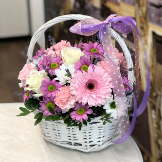 "Basket of Flowers ""The..."