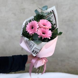 """Bouquet """"Flower News"""""""