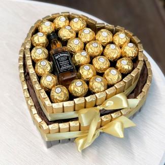 Золотой Торт из Шоколадок