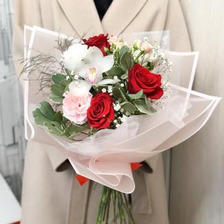 """Bouquet """"White Valentine"""""""