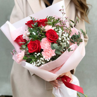 """Bouquet """"Tenderness of lovers"""""""
