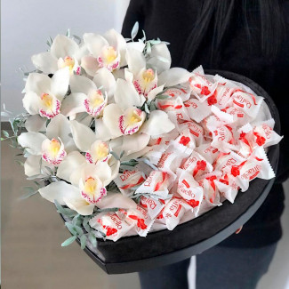 Orchid Raffaello Heart Premium