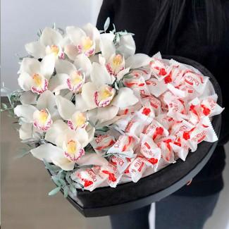 Сердце Орхидея Raffaello...