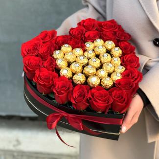 O Inima cu Ferrero Rocher &...