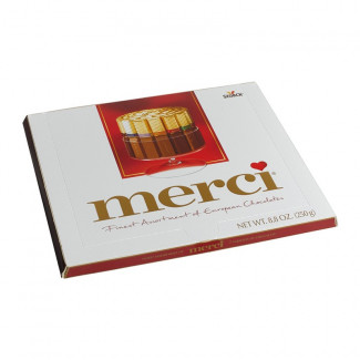 Chocolate set Merci 250gr