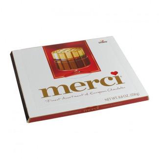 Шоколадный набор Merci 250gr
