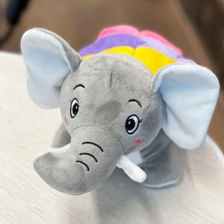 Плюшевый Слон-Бабочка...