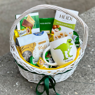 Gift Basket for Coffeesaur