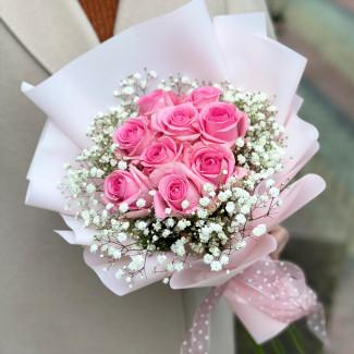 """Bouquet """"Barbie's Dress"""""""