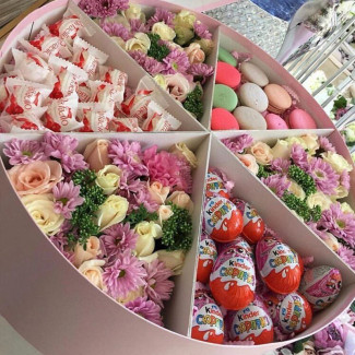 Large Box of Flowers &...