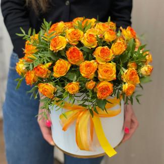 Коробка Ярких Роз