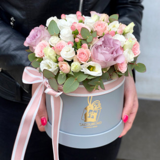 "Flowers in a Box ""Aurora"""