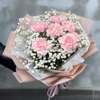 Bouquet of Carnations with...