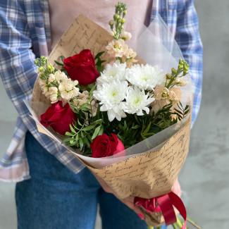 """Bouquet """"Scarlet Sails"""""""