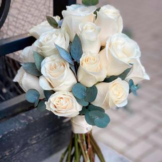 Bride's Bouquet of White...
