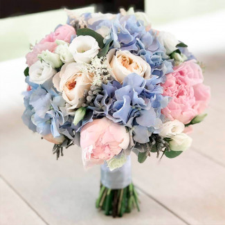 Bridal Bouquet with Peonies...