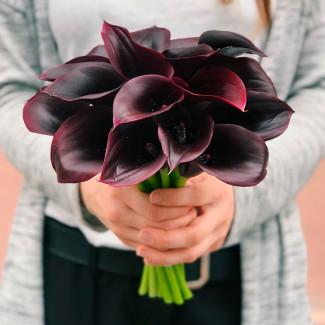 Bridal Bouquet of Black...