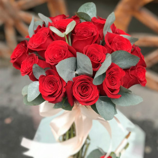 Bridal Bouquet of Red Roses...