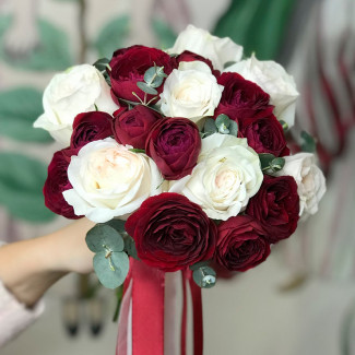 Bride's Bouquet of Red and...