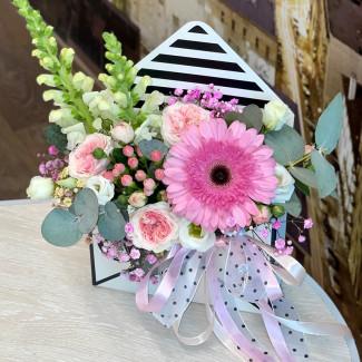 """Cutie cu Flori  """"Scrisoare..."""